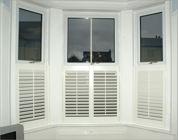 Cafe Style Shutters By Shutter Master of London UK