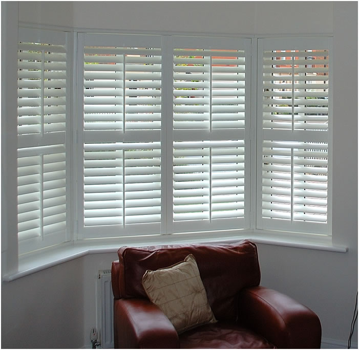 Luxury interior wallpapers interior shutters for windows for Window shutter designs