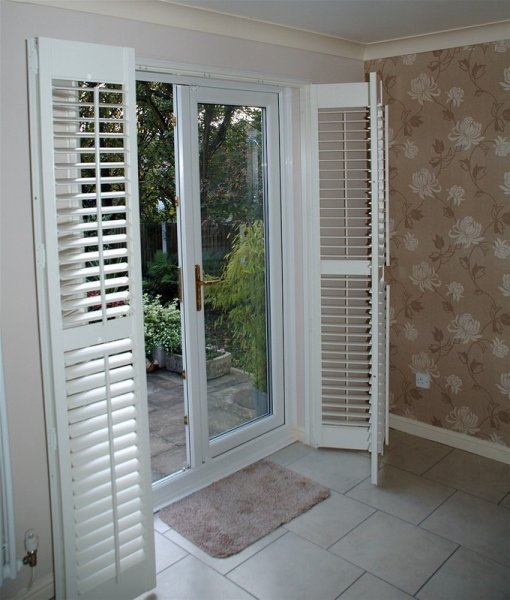 Patio Door Window Shutters 510 x 600