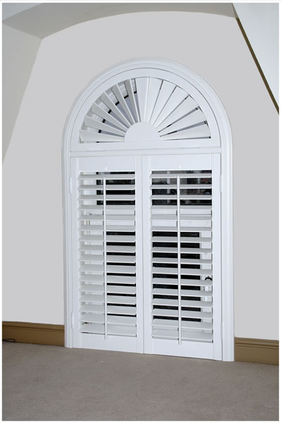 Wooden Solid Panel Shutters By Shutter Master Of London