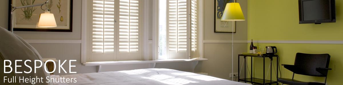 Bedroom window shutter