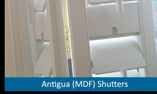 MDF window shutters