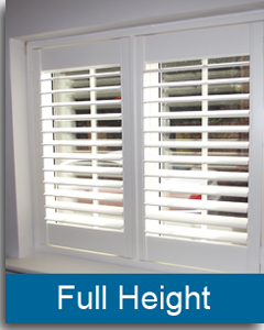 full height plantation shutters