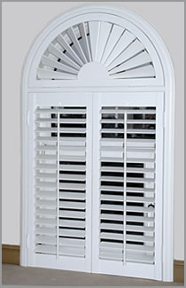 Picture Of Arched Shutter