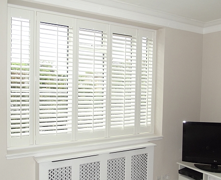 Photo Of Plantation Shutters Installed In Putney London.