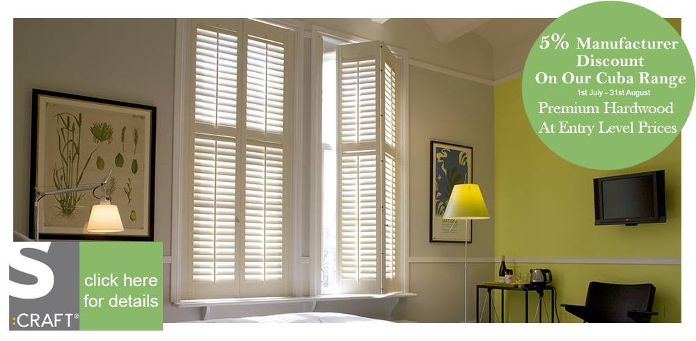 Cuba plantation window shutters