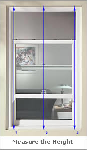Image Showing Where to Measure For Shutters