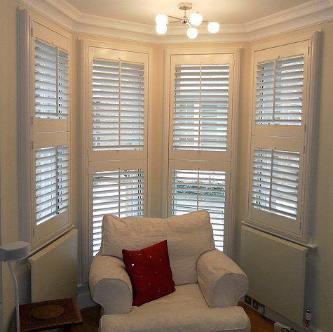 Shutters For Bay Windows By Shutter Master Of London
