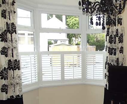 Image of MDF Shutters Cafe Style