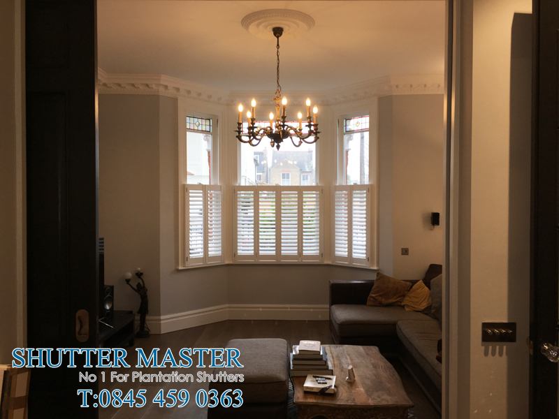 MDF cafe style shutters